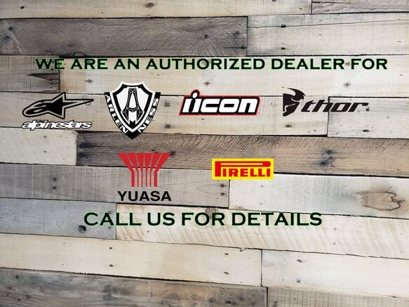 Authorized Retailer for these brands